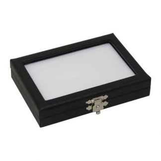 Leatherette Glass top Cases