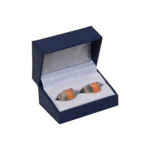 21-DR_Leatherette_Double_Ring_Box-Blue-Open