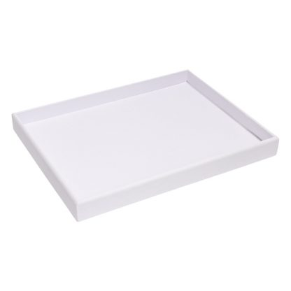 300GTOE-W_300_Series_leatherette_gemtray_white_empty