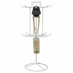 445_coated_wire_revolving_stand_16-prong_white_only