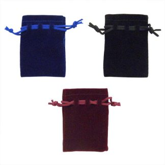 B69 Flocked Cloth Pouches