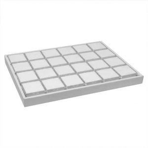 G22SS-W_Leatherette_Tray_w_22S_Boxes-White