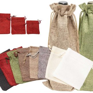 Hessian-Look Cloth