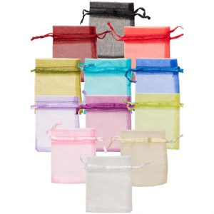 OP100_organza_drawstring_pouch_group_75x100mm_assorted_colours